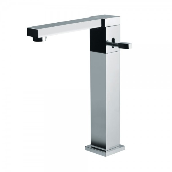 Single Lever High Neck Basin Mixer with Swivel Spout