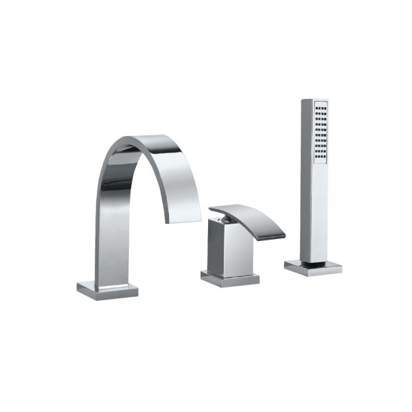3-Hole Bath & Shower Mixer