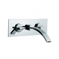 3 Hole in-wall Basin Mixer
